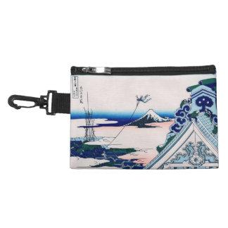 Asakusa Temple Hokusai Vintage Japanese Fine Art Accessory Bags