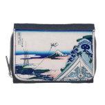Asakusa Temple Hokusai Vintage Japanese Fine Art Wallet