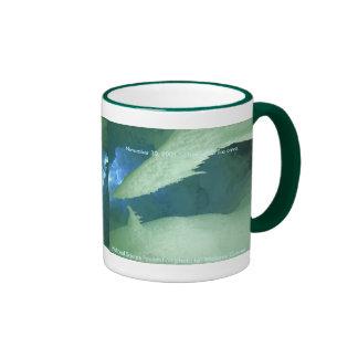 Asalte/dentro de una cueva de hielo tazas de café