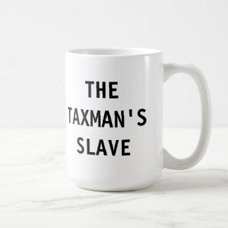 Asalte el esclavo del recaudador de impuestos taza