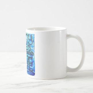 Asalte, muchas aguas no puede apagar el amor, taza de café