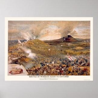 Asalto de la unión durante la batalla de la misión poster