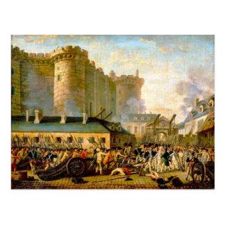 Asalto del Bastille, 1900, París Tarjetas Postales