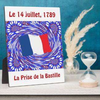 Asalto del Bastille, el 14 de julio de 1789 Placas Con Fotos