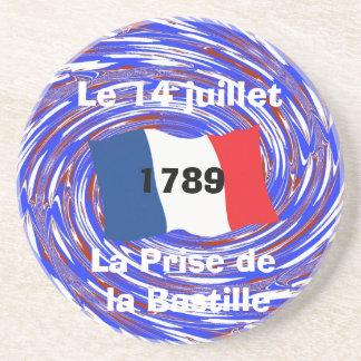 Asalto del Bastille, el 14 de julio de 1789 Posavasos Diseño