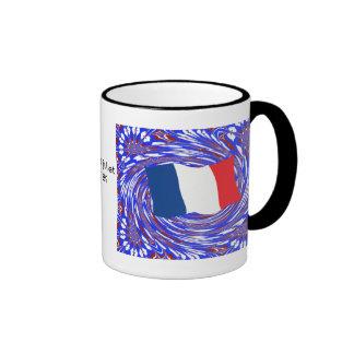 Asalto del Bastille, el 14 de julio de 1789 Taza A Dos Colores
