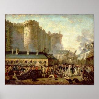Asalto del Bastille Póster