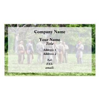 Asamblea confederada tarjetas de visita