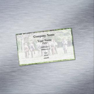 Asamblea confederada tarjetas de visita magnéticas (paquete de 25)