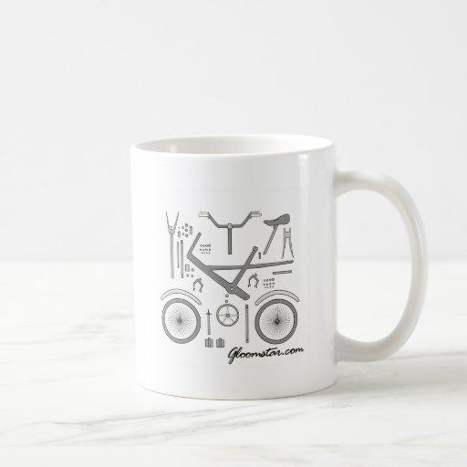 Asamblea de la bici taza de café