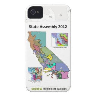 Asamblea estatal iPhone 4 Case-Mate protectores