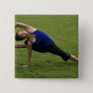 Asana yoga button
