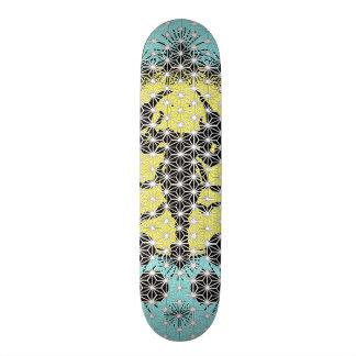 Asanoha Scorpion Skateboard Deck