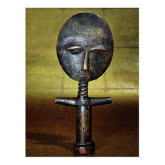 Asanti fertility doll, Africa Postcard