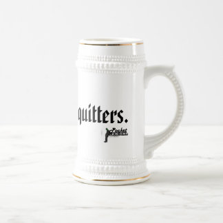 ASAP is for quitters Beer Stein