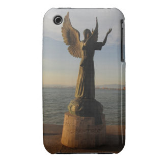 ASAS Angel Statue at Sunset Case-Mate iPhone 3 Case