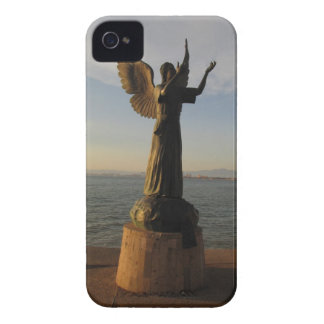 ASAS Angel Statue at Sunset iPhone 4 Case-Mate Case