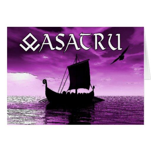 Asatru Greeting Card