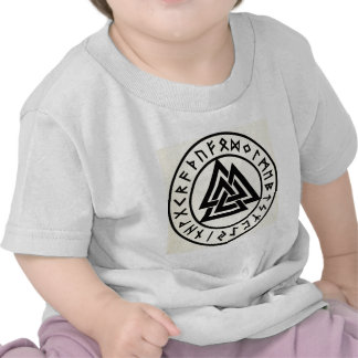 Asatru, old norse religion, symbols, odin & Thor Tshirts
