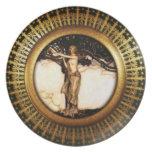 Asatru real: Oro de Freya Platos De Comidas