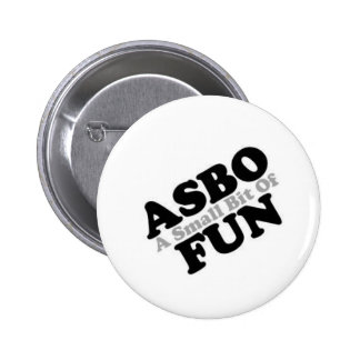ASBO Fun Pinback Buttons