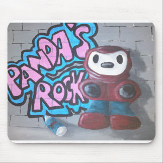 Asbo Panda by Oggy's World. Mouse Pad