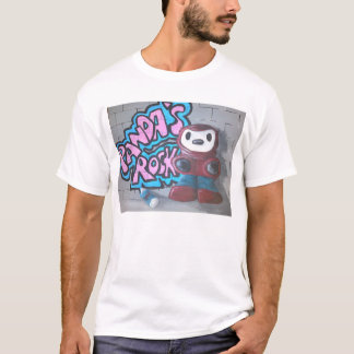 Asbo Panda by Oggy's World. T-Shirt