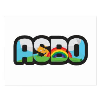 ASBO POSTCARD