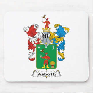 Asboth Family Hungarian Coat of Arms Mouse Pad