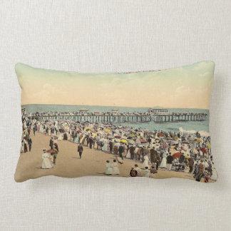 Asbury Avenue, Asbury Park, New Jersey Throw Pillow