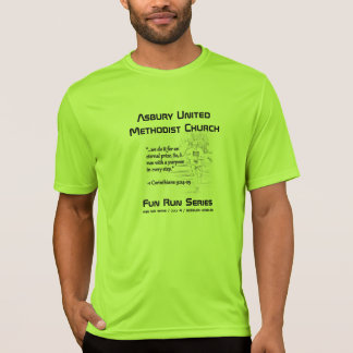 ASBURY FUN RUN SERIES SHIRT (Lime shock)