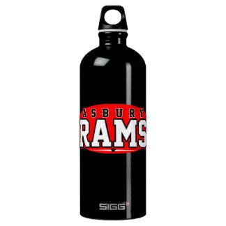 Asbury High School; Rams Aluminum Water Bottle