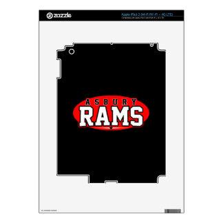 Asbury High School; Rams Skin For iPad 3