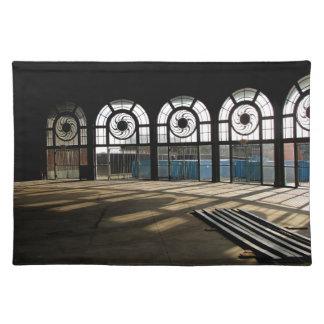 Asbury Park Casino carousel house interior Cloth Placemat