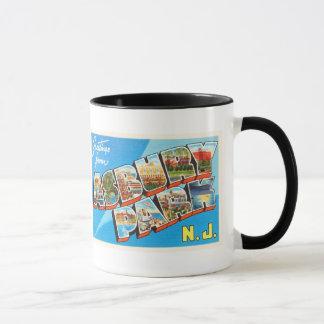 Asbury Park New Jersey NJ Vintage Travel Postcard- Mug