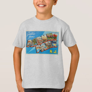 Asbury Park New Jersey NJ Vintage Travel Postcard- T-Shirt
