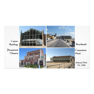 Asbury Park NJ Boardwalk and Landmarks Card