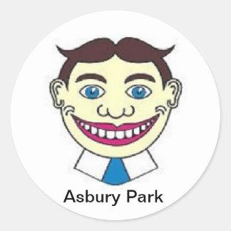 Asbury Park NJ Tillie Classic Round Sticker