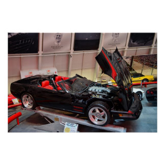 ASC C4 Corvette ZR1 roadster concept Poster