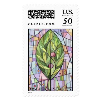 "Ascalon Studios' ""The Tree of Life"" Postage Stamp"