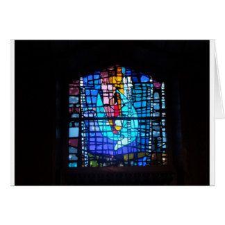 Ascencion Window Blessings Greeting Cards