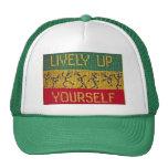ascendente animado usted mismo gorra