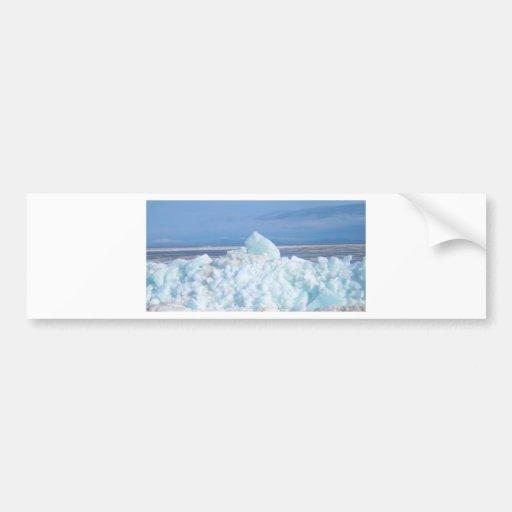 ascendente breal del hielo pegatina para auto