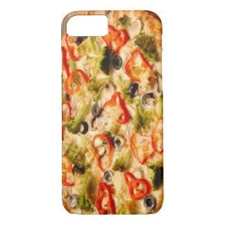 Ascendente cercano de la pizza funda iPhone 7