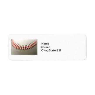 Ascendente cercano del béisbol etiqueta de remite