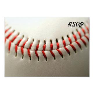 """Ascendente cercano del béisbol invitación 3.5"""" x 5"""""""