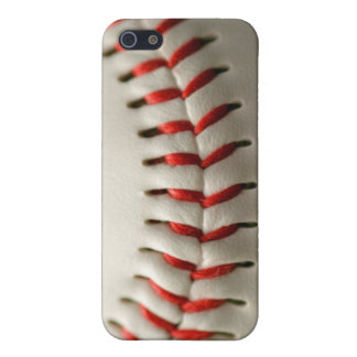Ascendente cercano del béisbol iPhone 5 funda