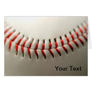 Ascendente cercano del béisbol tarjetón