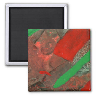 """Ascenders"" Abstract Art Magnet"