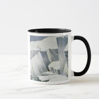 Ascending a Cliff, from 'A Narrative of an Ascent Mug